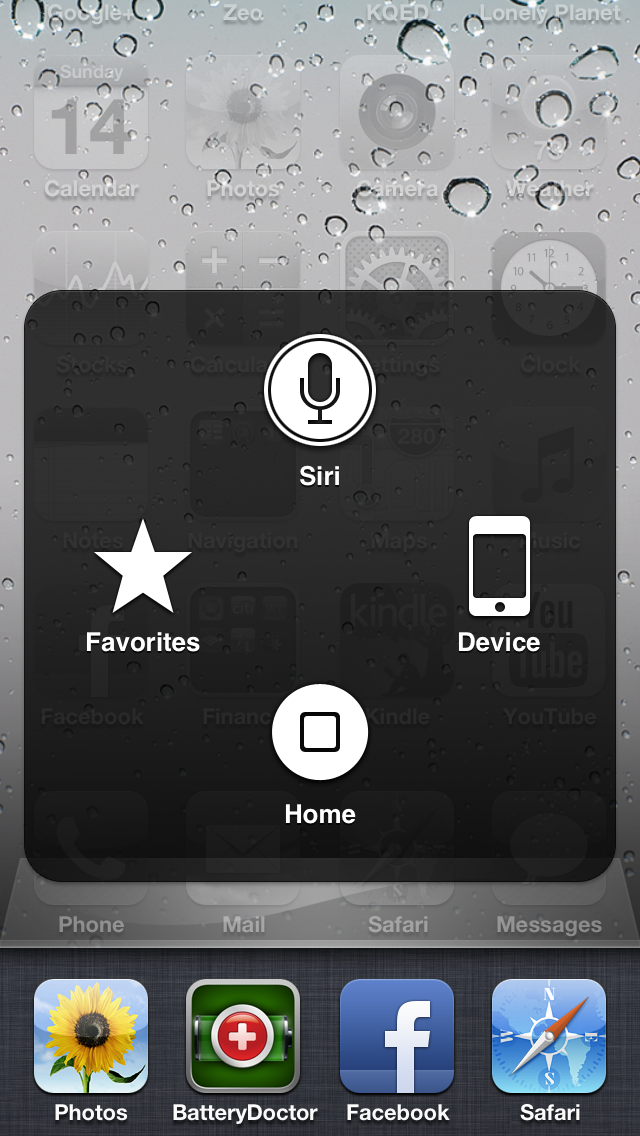 iOS 6 Bug: Assistive Touch + Multitasking View + Siri Doesn