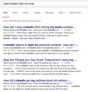 LinkedIn Contacts 4
